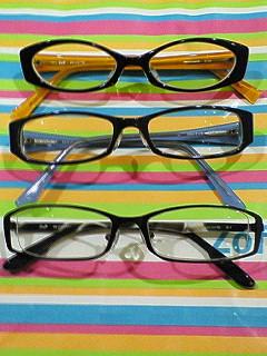 みんなでメガネを買ってみた♪