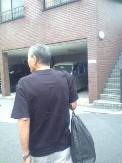 俺の背中、親父の背中