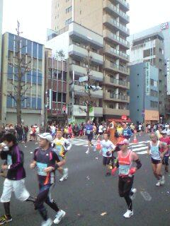 東京マラソン応援中☆