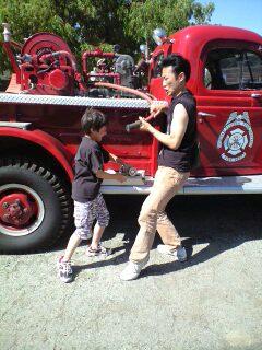 消防車フェスティバル☆