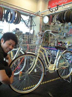 出かけたくなっちゃう自転車☆