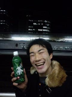 乗り過ごして静岡