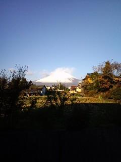 うぉー!富士山!!