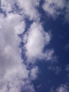 アメリカの雲。