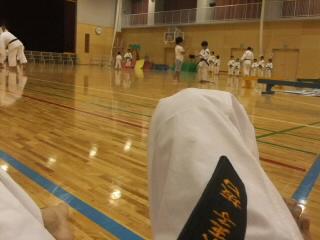 久しぶりに少林寺拳法。