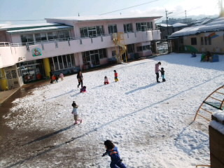 子どもと雪遊びin福井県
