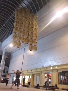 竿燈(かんとう)祭り深夜練習