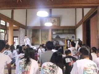 お寺でサマースクール大成功!