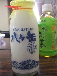 長野県八ヶ岳牛乳CM撮影