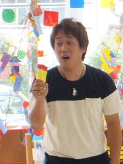 小沢かづと君大人気!